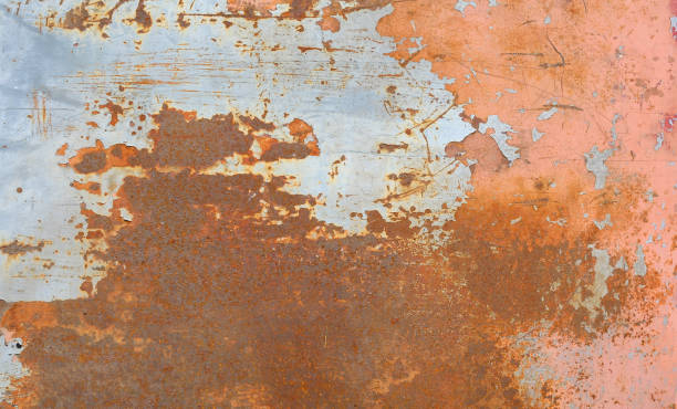 old metal iron rust background and texture. stock photo