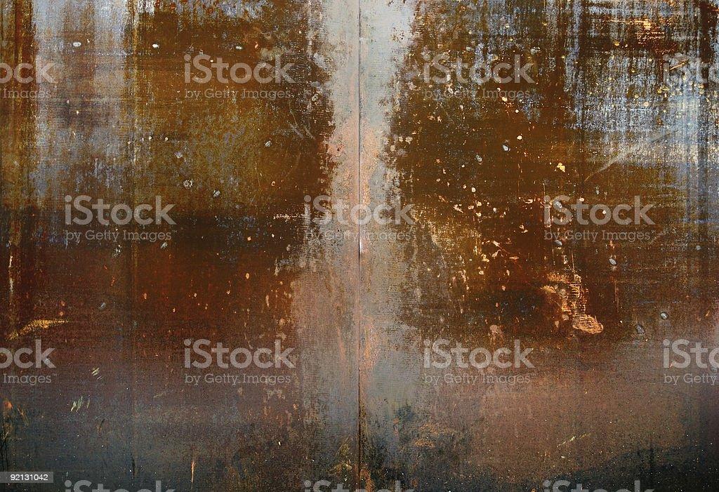 old metal stock photo