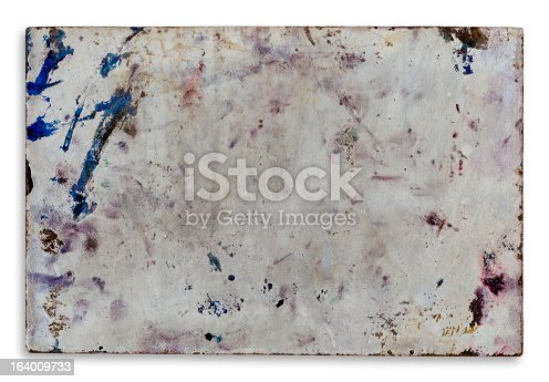 istock Old Metal Plate 164009733