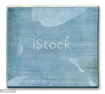 istock Old Metal Plate 164009745
