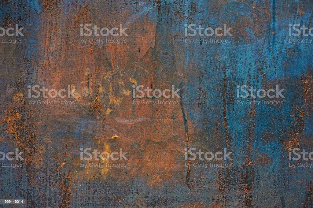 Alte Blech Aus Eisen Mit Rost Zusammenfassung Hintergrund Stockfoto