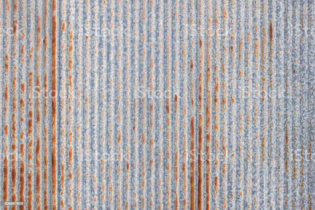 Blechdach textur  Alte Blech Dach Textur Muster Der Alten Blech Stock-Fotografie und ...