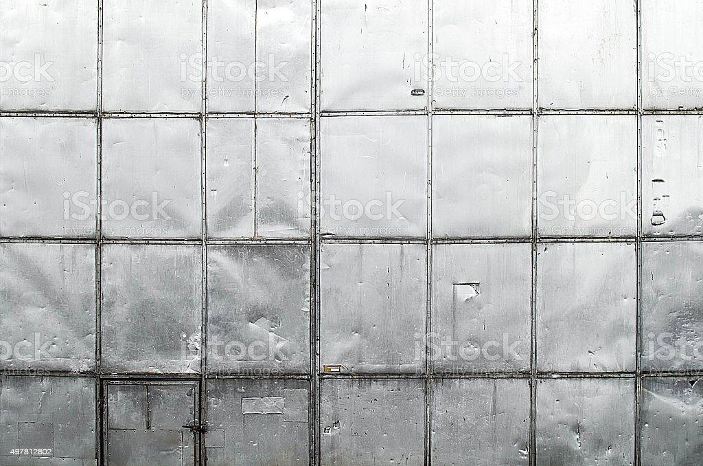old metal sheet wall texture stock photo