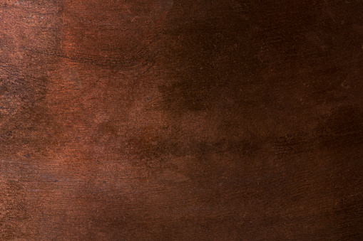 Old metal texture - copper closeup. Background
