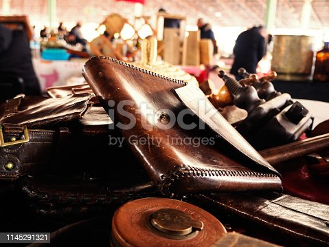 Old metal ware and tools