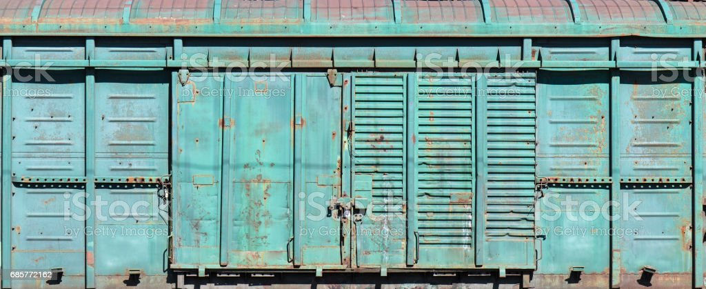 old metal warehouse door, hangar, high resolution photo royalty-free stock photo