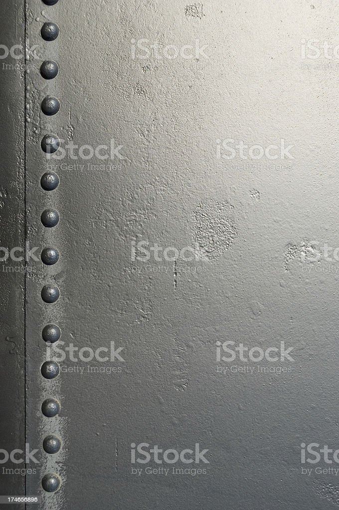 Old metallic background stock photo
