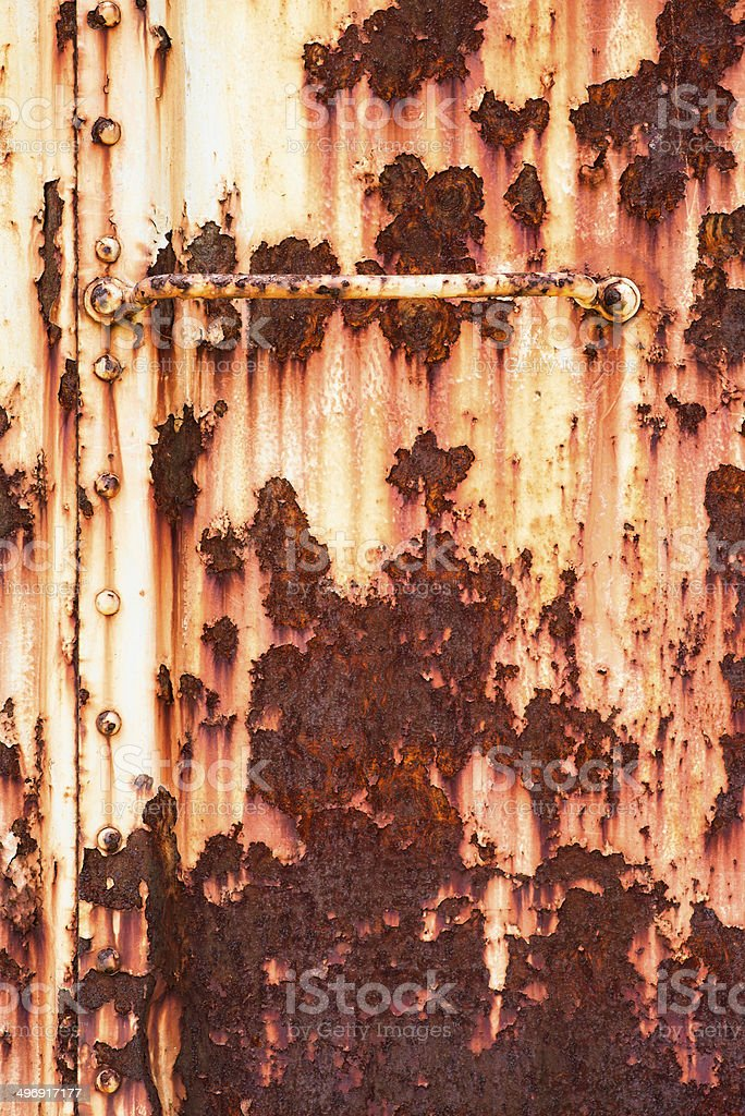 old metallic background. rust. royalty-free stock photo