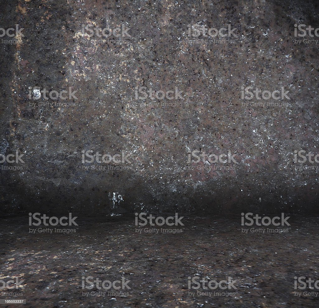 old metallic interior royalty-free stock photo