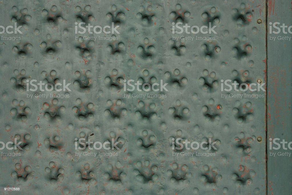 Old Metallic Ornament stock photo