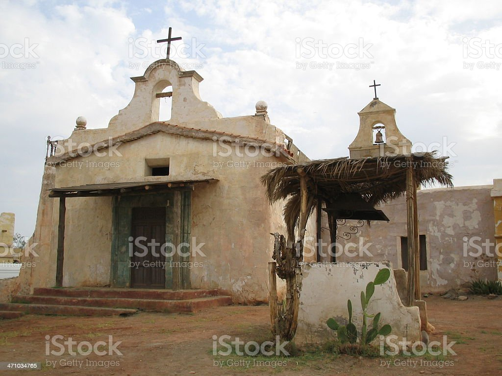 Old Mexican ChurchFar West Series