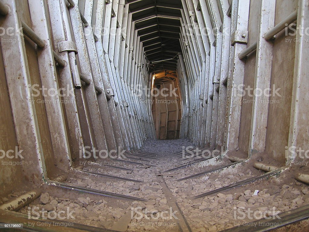Old Military Outpost, Israel stock photo