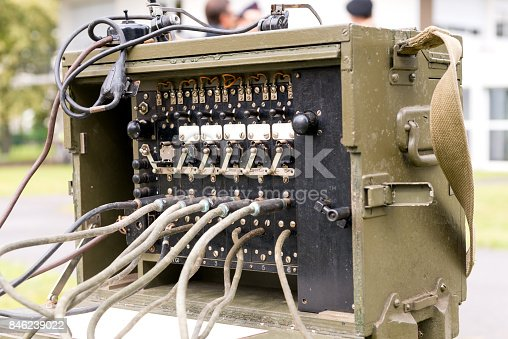 istock old military us army radio receiver transmitter 846239022