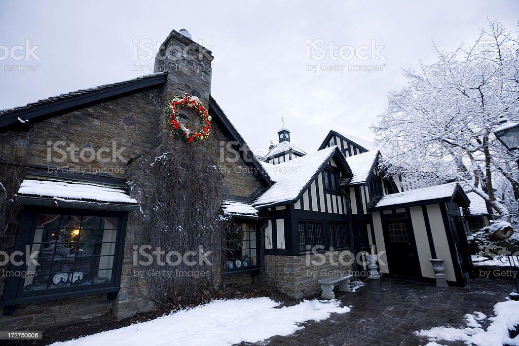 Old Mill Inn, Toronto royalty-free stock photo