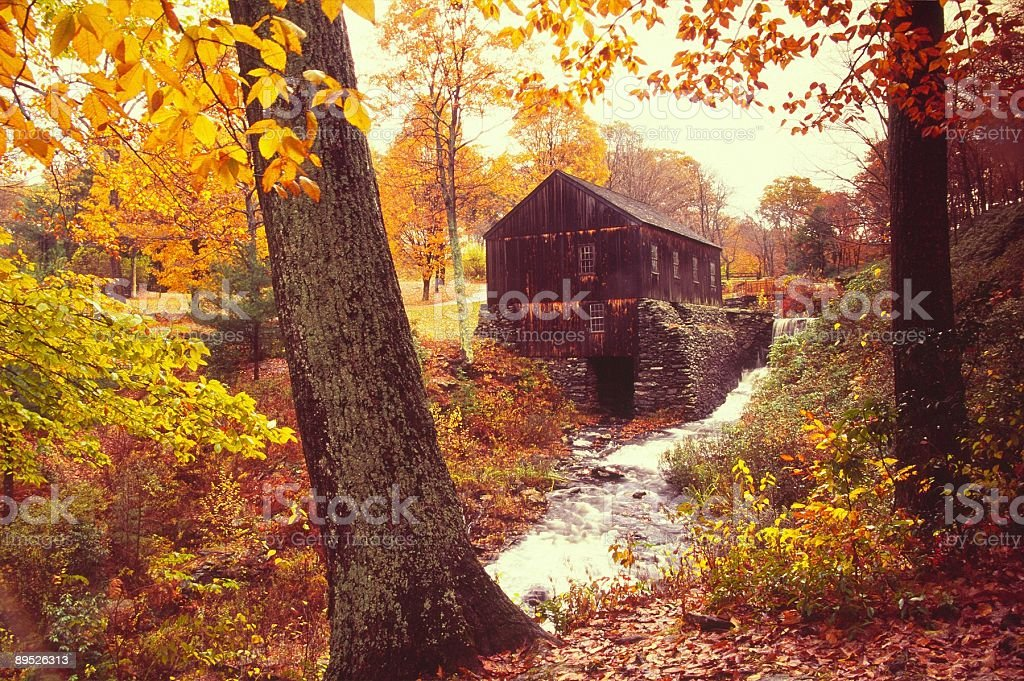 Old Mill stock photo