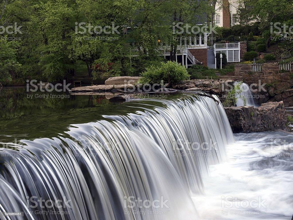 Old Mill Stream stock photo