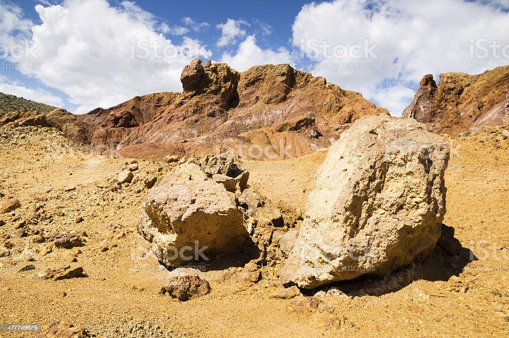 old mine in Mazarron, Murcia, Spain royalty-free stock photo
