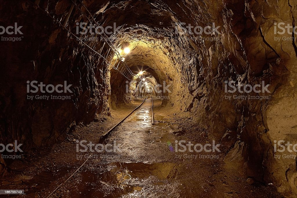 Old Mines stock photo