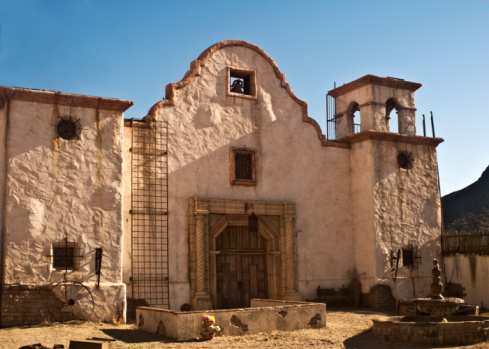 Old Mission Front Stock Photo - Download Image Now