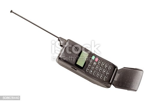 istock Old mobile phone 508628440