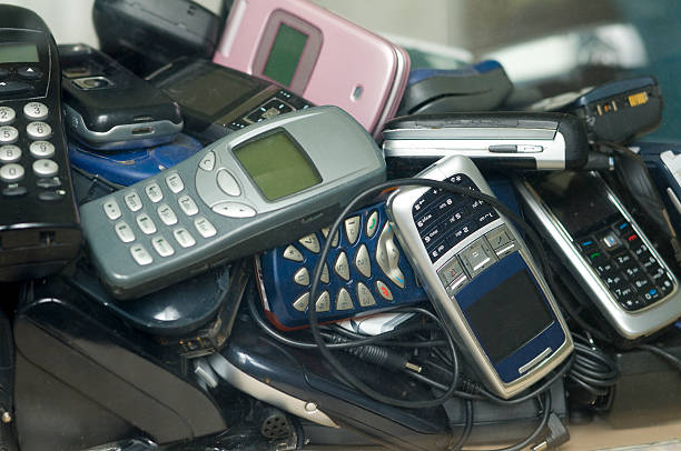Alten Handys-wertvolle Schrott – Foto