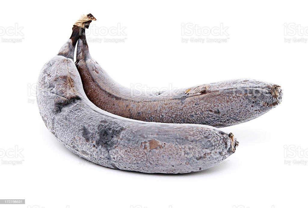 Old Moldy Bananas royalty-free stock photo