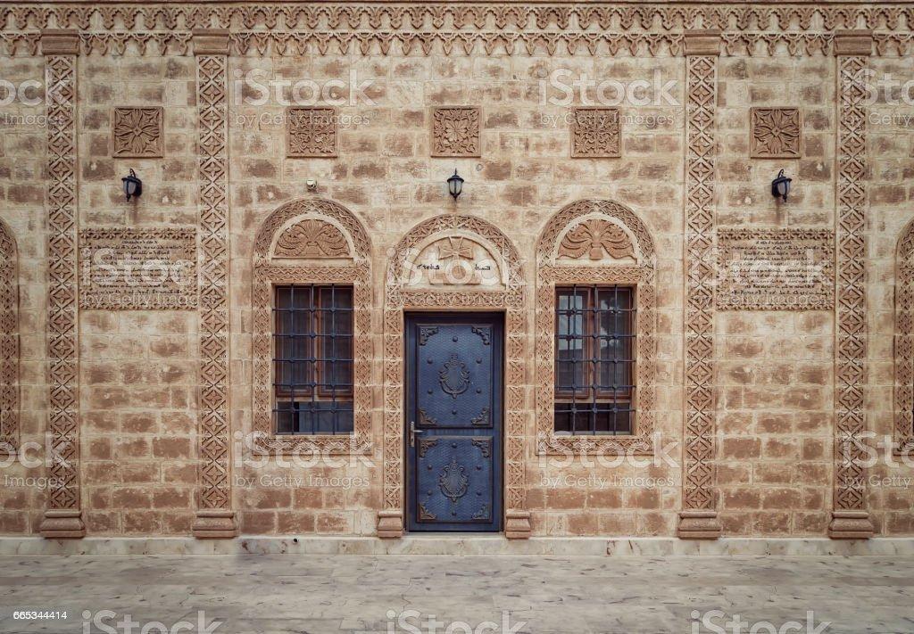 Old Monastery Gate stock photo