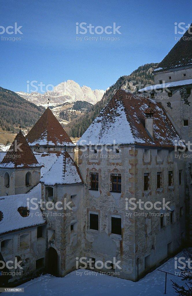 Old monasterio en Italia foto de stock libre de derechos