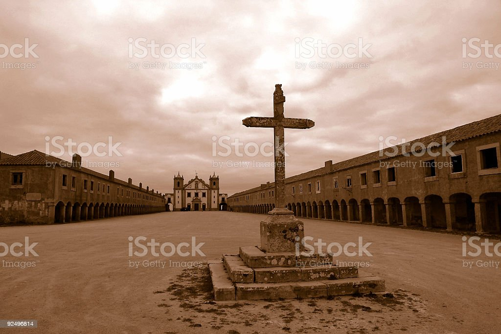 Old Monastery Portugal royalty-free stock photo