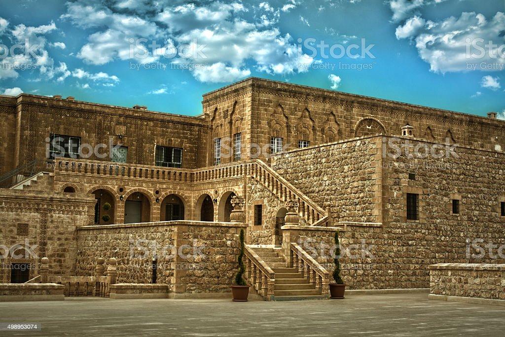 Old Monastery,Turkey stock photo