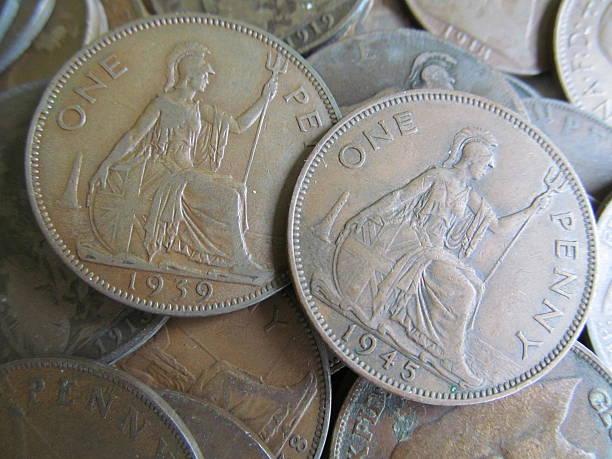 Vieille argent 1939-1945 - Photo
