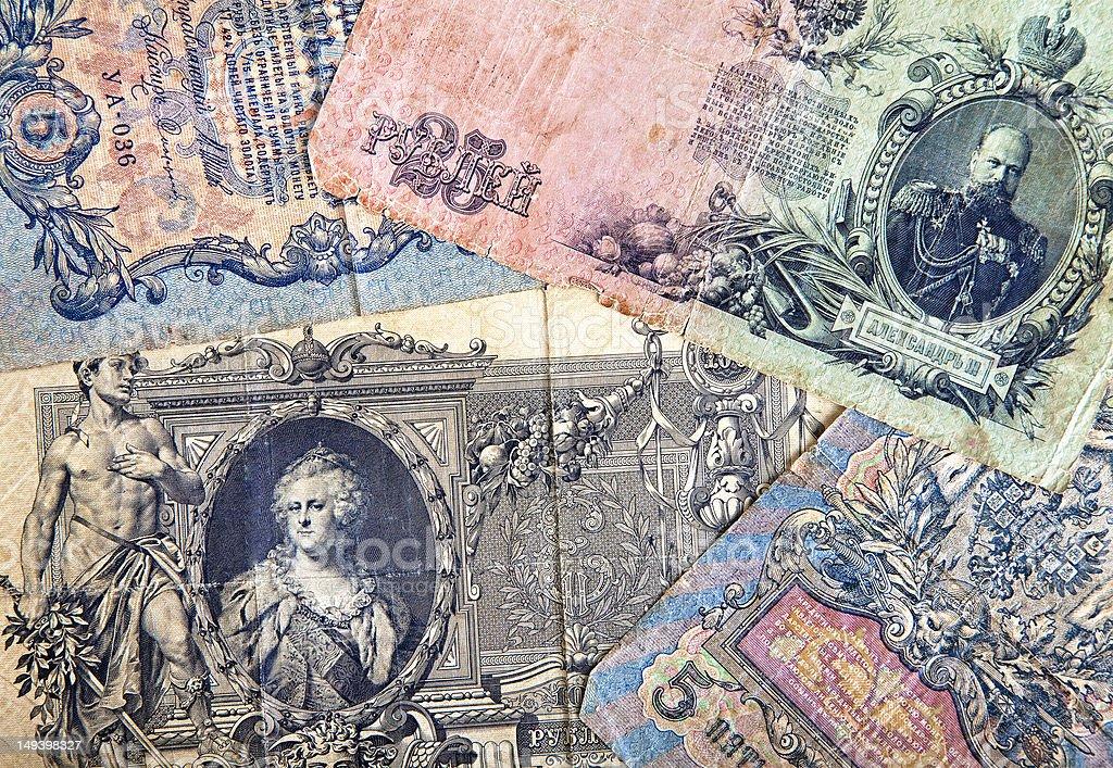 Old money Background stock photo