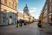 istock Old Montreal During Fall Season, Quebec, Canada 1266475864