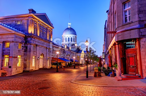 Old Montreal is the oldest area in the city of Montreal, Quebec, Canada, with a few remains dating back to New France