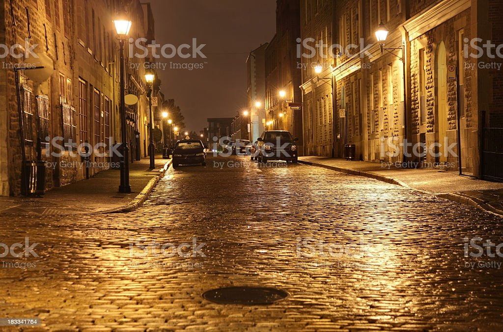 Old Montreal royalty-free stock photo