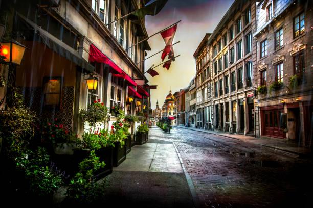 オールド モントリオール - セントポール通り - 旧市街 ストックフォトと画像
