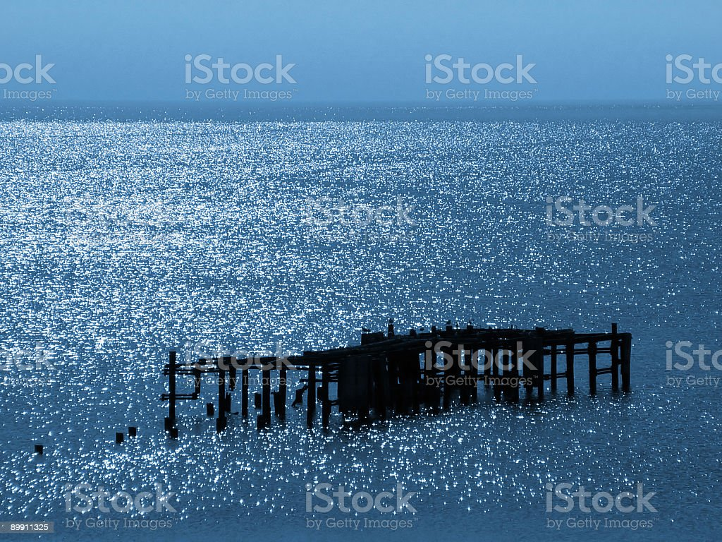Old mooring royalty-free stock photo