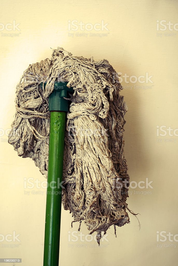 Old mop royalty-free stock photo