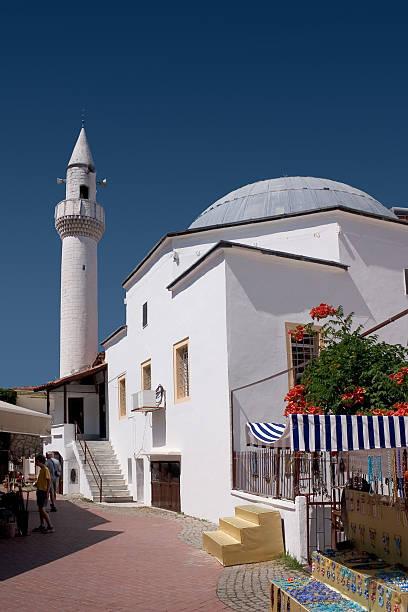 Old Mosque, Fethiye, Turkey stock photo