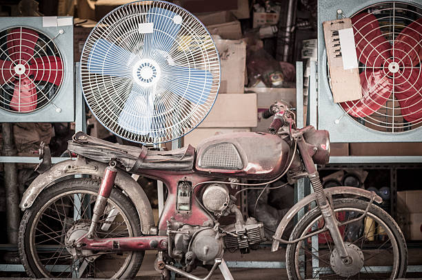 old motorcycle - motorbike, umbrella stock pictures, royalty-free photos & images
