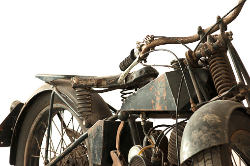 Old motorcycle war II