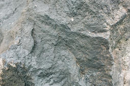 Old Natural Grey Stone Texture Background - Fotografie stock e altre immagini di Ambientazione esterna