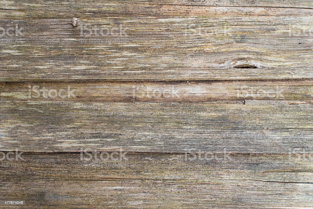 Old natural wood planks background stock photo