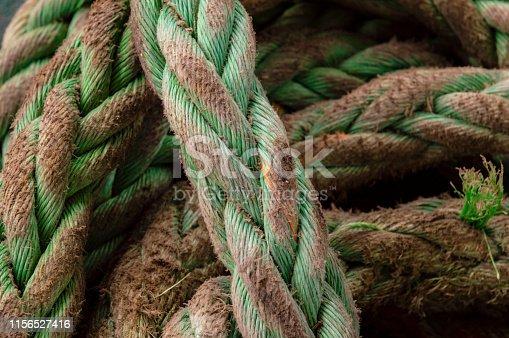 Old Nautical rope background