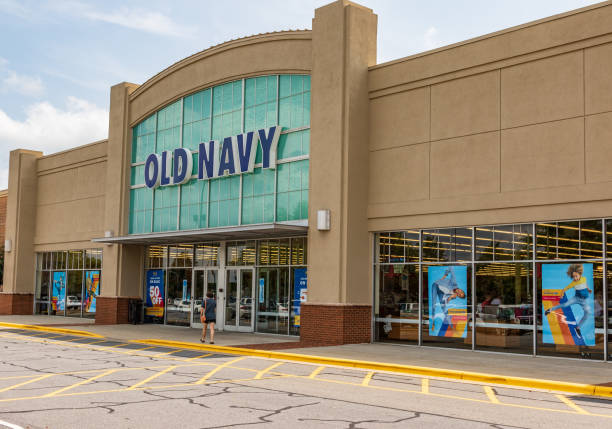 Old Navy storefront stock photo