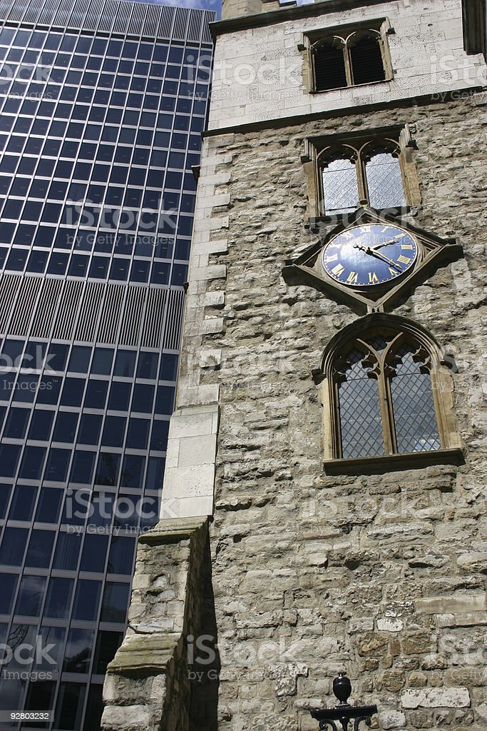 Old & New 1 royalty-free stock photo