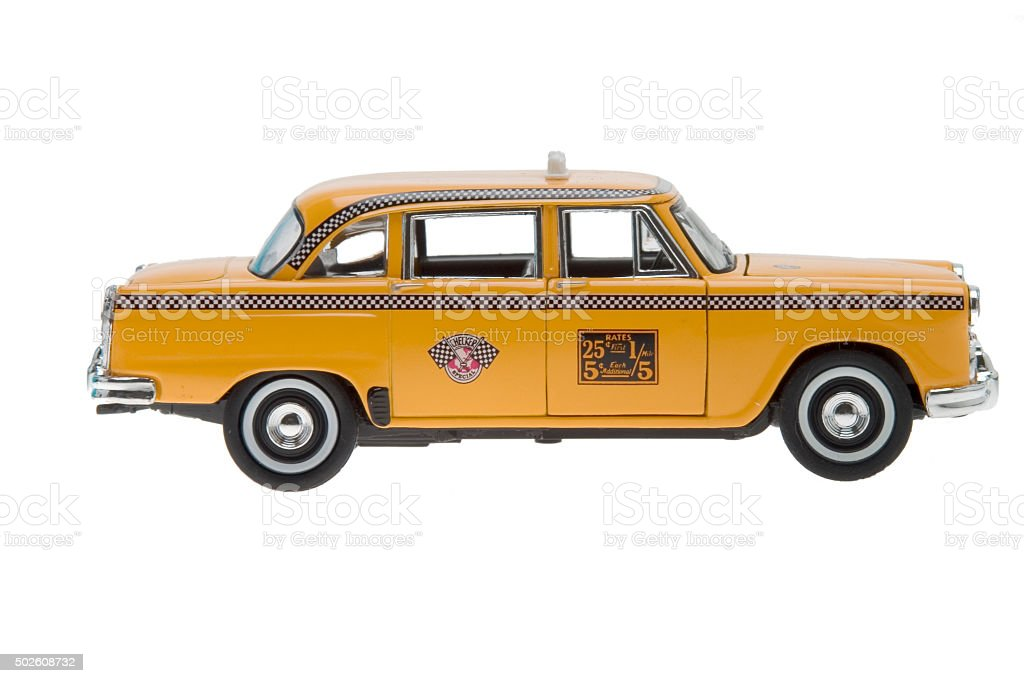 altes New York Taxi toy – Foto