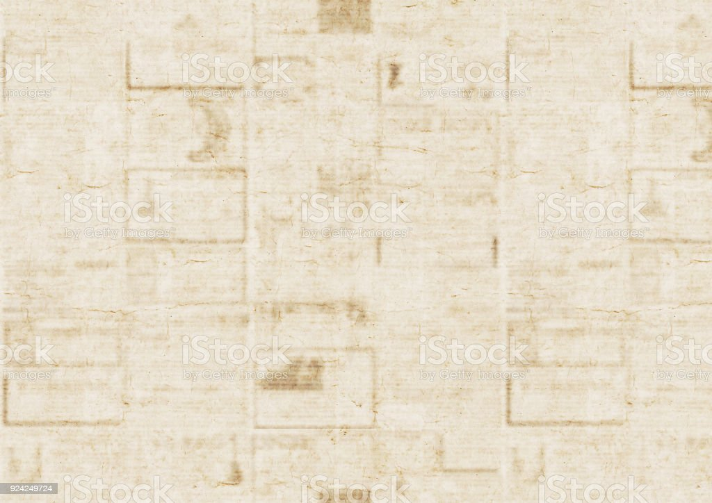 Old Newspaper Texture Background Royalty Free Stock Photo