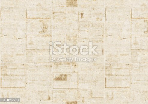 926279334 istock photo Old newspaper texture background 924249724