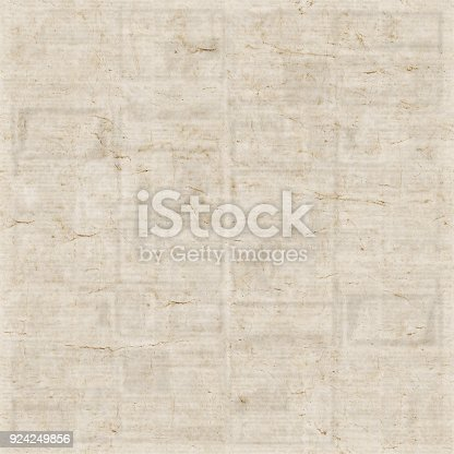1134202009istockphoto Old newspaper texture background 924249856